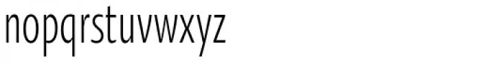 Oksana Sans Compressed Font LOWERCASE