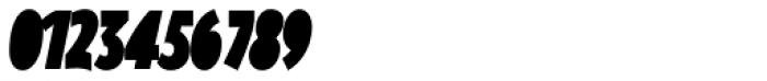 Oksana Sans Fat Compressed Italic Font OTHER CHARS
