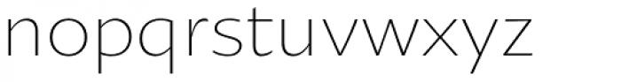 Oksana Sans Light Font LOWERCASE