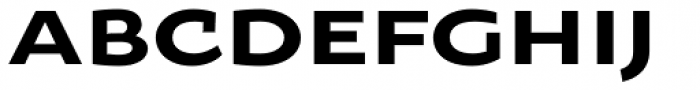 Oksana Sans Wide Bold Font UPPERCASE