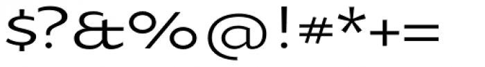 Oksana Sans Wide Font OTHER CHARS