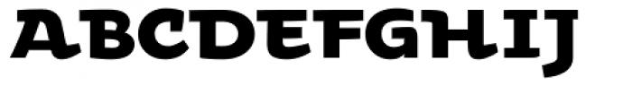 Oksana Std Alt Heavy Font UPPERCASE