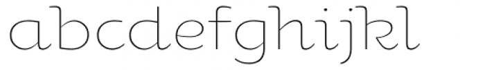 Oksana Std Alt Light Font LOWERCASE