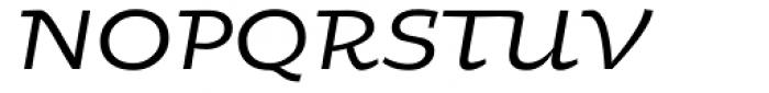 Oksana Std Demi Bold Italic Font UPPERCASE