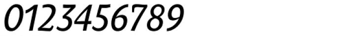Oksana Text Narrow Demi Bold Italic Font OTHER CHARS