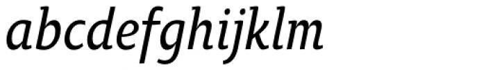 Oksana Text Narrow Demi Bold Italic Font LOWERCASE