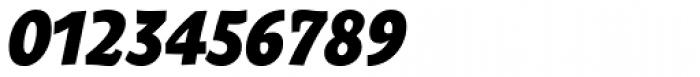 Oksana Text Narrow Heavy Italic Font OTHER CHARS