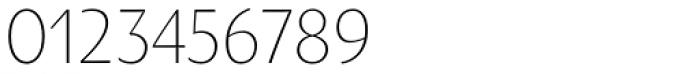 Oksana Text Narrow Light Font OTHER CHARS