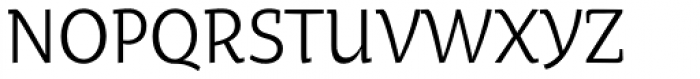Oksana Text Narrow Font UPPERCASE