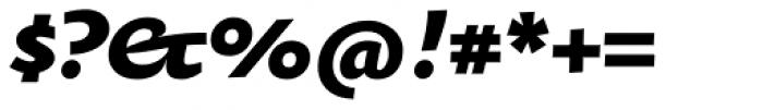 Oksana Text Std Heavy Italic Font OTHER CHARS