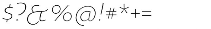 Oksana Text Swash Cyrillic Light Italic Font OTHER CHARS