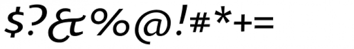 Oksana Text Swash Demi Bold Italic Font OTHER CHARS