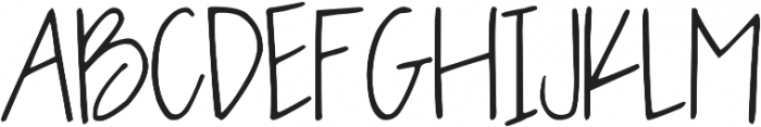 OLIVE CHARMING ttf (400) Font UPPERCASE
