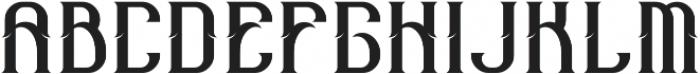 Old Mariner Regular otf (400) Font UPPERCASE