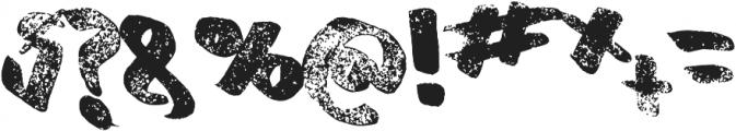 Old Originals ttf (400) Font OTHER CHARS