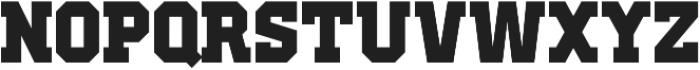 Old School United Regular ttf (400) Font UPPERCASE
