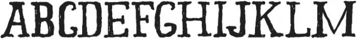 Old Story otf (400) Font UPPERCASE