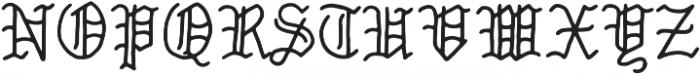 Old Style Loser otf (400) Font UPPERCASE