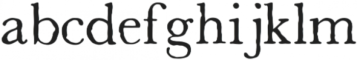 Old Tennessee Regular otf (400) Font LOWERCASE