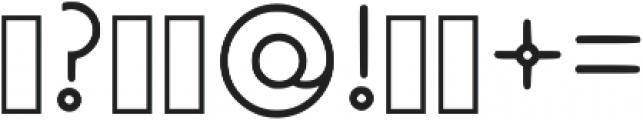 Old-Velvet light otf (300) Font OTHER CHARS