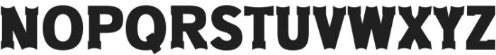 Old West Regular otf (400) Font UPPERCASE