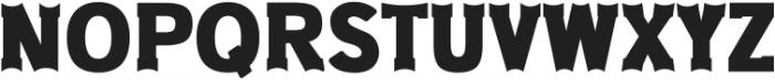 Old West Regular ttf (400) Font UPPERCASE