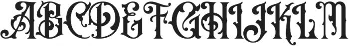 OldAlfie otf (400) Font UPPERCASE