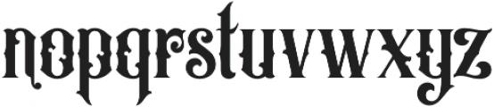 OldAlfie otf (400) Font LOWERCASE