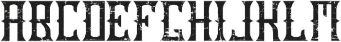 OldCask aged otf (400) Font UPPERCASE