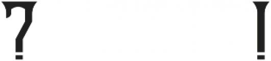 OldCask base otf (400) Font OTHER CHARS