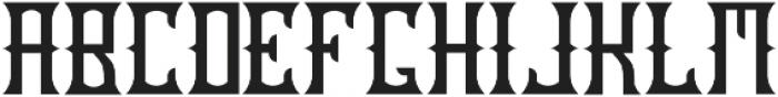 OldCask base otf (400) Font UPPERCASE