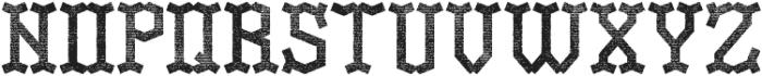 OldLogger Aged otf (400) Font UPPERCASE