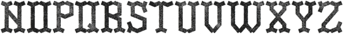 OldLogger Aged otf (400) Font LOWERCASE
