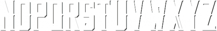 OldWindsor ShadowFX otf (400) Font LOWERCASE