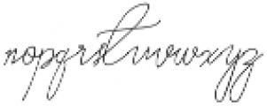 Older Historica ttf (400) Font LOWERCASE