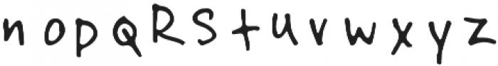 Oleander_2 otf (400) Font LOWERCASE