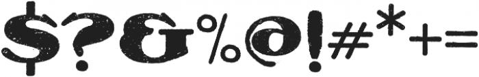 Olechblack Regular otf (900) Font OTHER CHARS