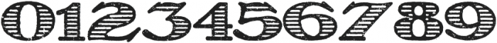 Olechstripes Regular otf (400) Font OTHER CHARS