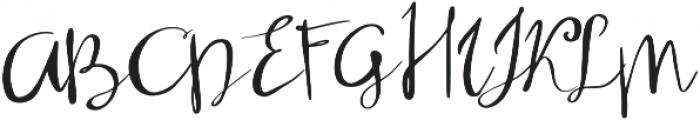 Oleisia Script Regular otf (400) Font UPPERCASE