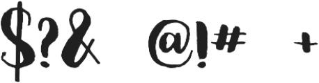 Olesna Regular otf (400) Font OTHER CHARS