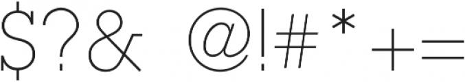 Olim Futura otf (300) Font OTHER CHARS
