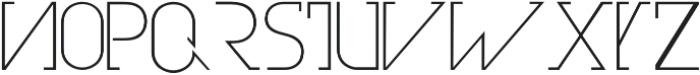 Olim Futura otf (300) Font LOWERCASE