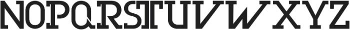Olim Futura otf (400) Font UPPERCASE