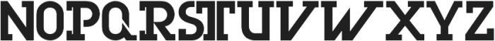 Olim Futura otf (700) Font UPPERCASE