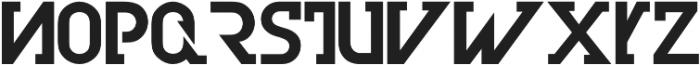 Olim Futura otf (700) Font LOWERCASE