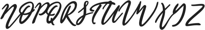 Olis Bold otf (700) Font UPPERCASE