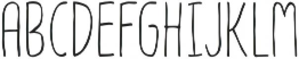 Olive otf (400) Font UPPERCASE