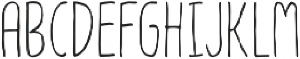 Olive otf (400) Font LOWERCASE