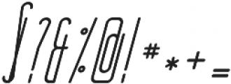 Oliver Italic otf (400) Font OTHER CHARS