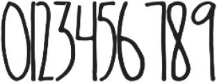 Oliver Light otf (300) Font OTHER CHARS